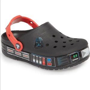 Star Wars Darth Vader Light-Up Clog toddler crocs